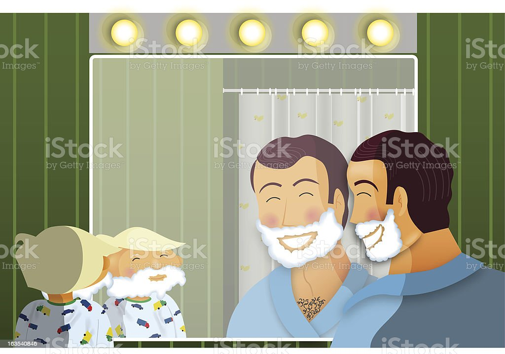 Shaving royalty-free shaving stock vector art & more images of adult