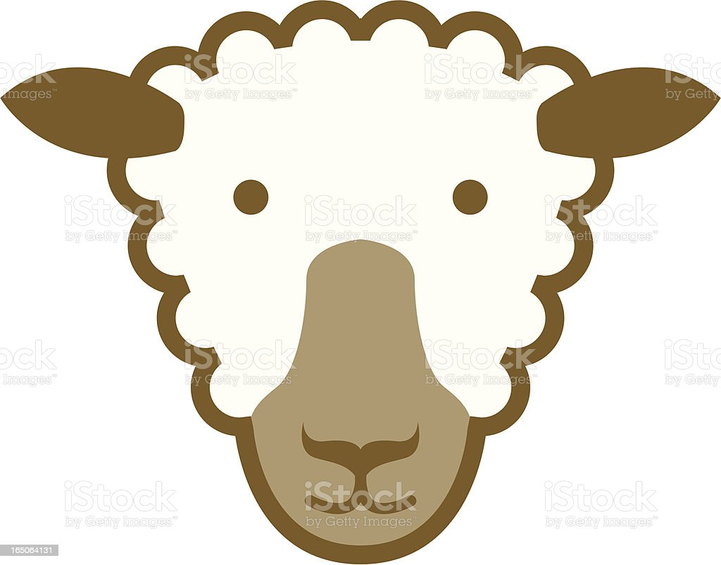 Sheep icon royalty-free stock vector art