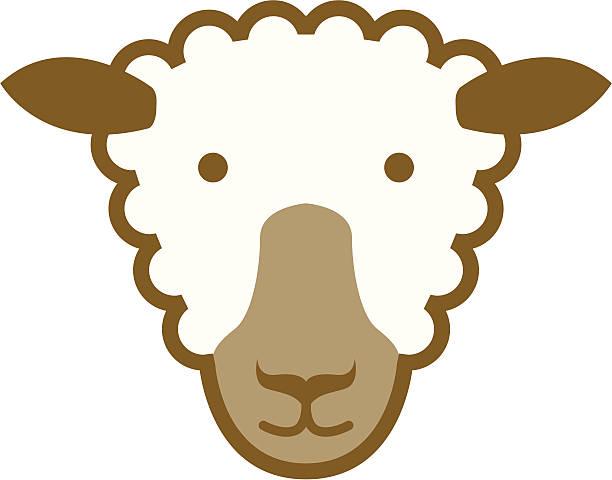 Icône de mouton - Illustration vectorielle