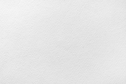 Sheet of white watercolor paper