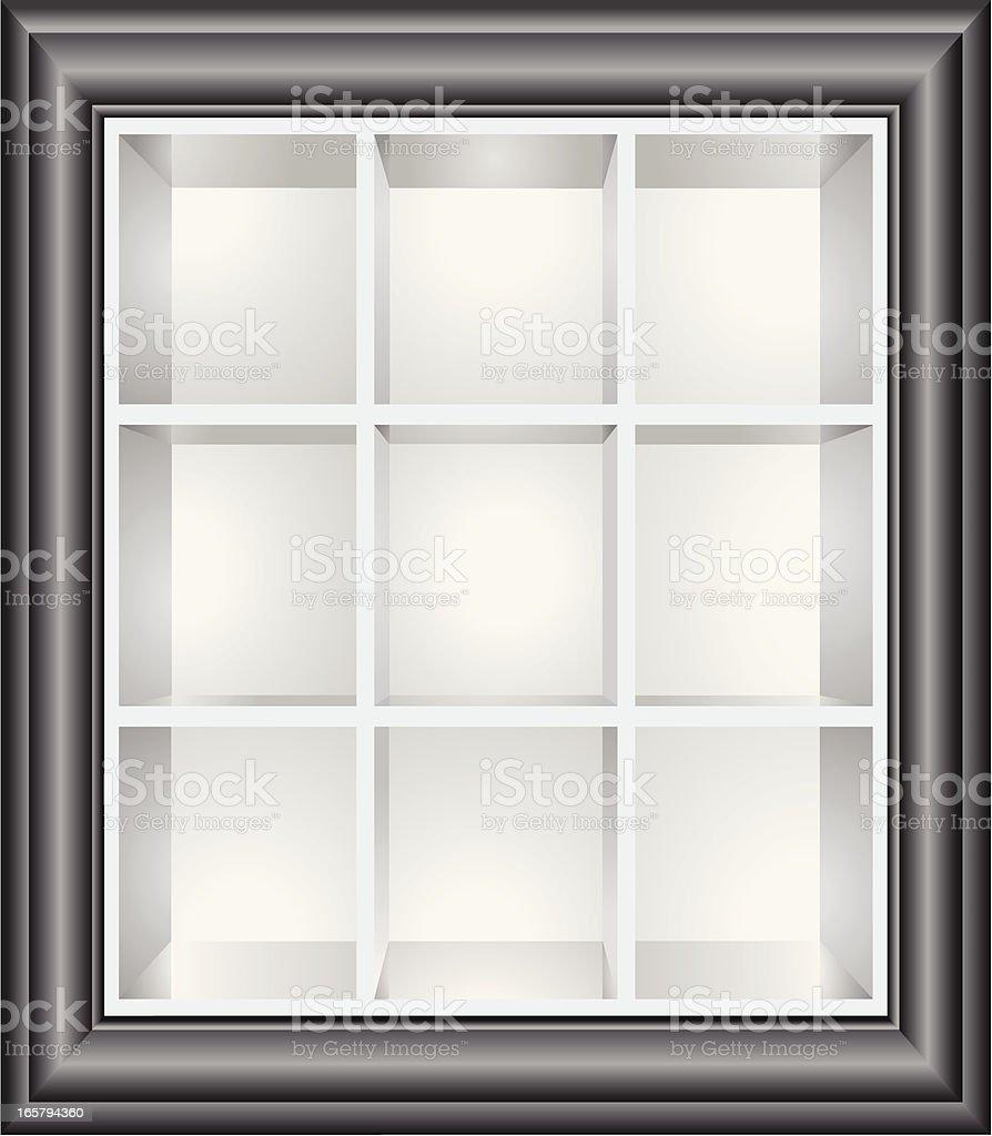 Regale In Künstlerischen Bild Vektor Illustration 165794360 | iStock