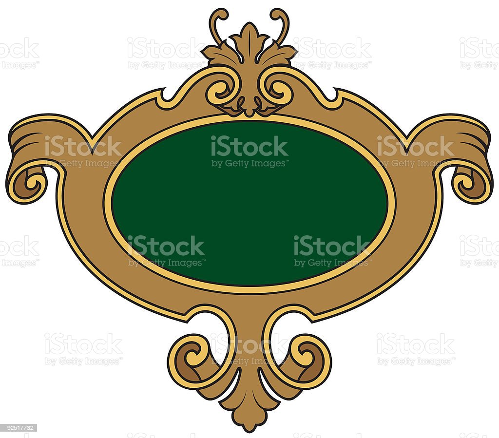 Shield 1571 royalty-free stock vector art