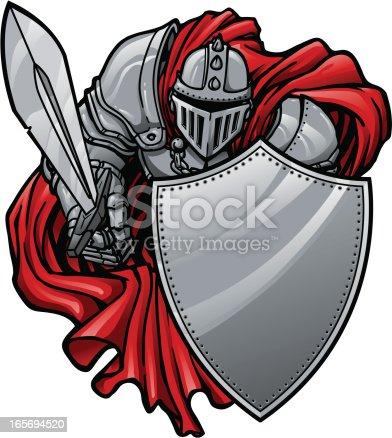 istock Shielding Knight 165694520