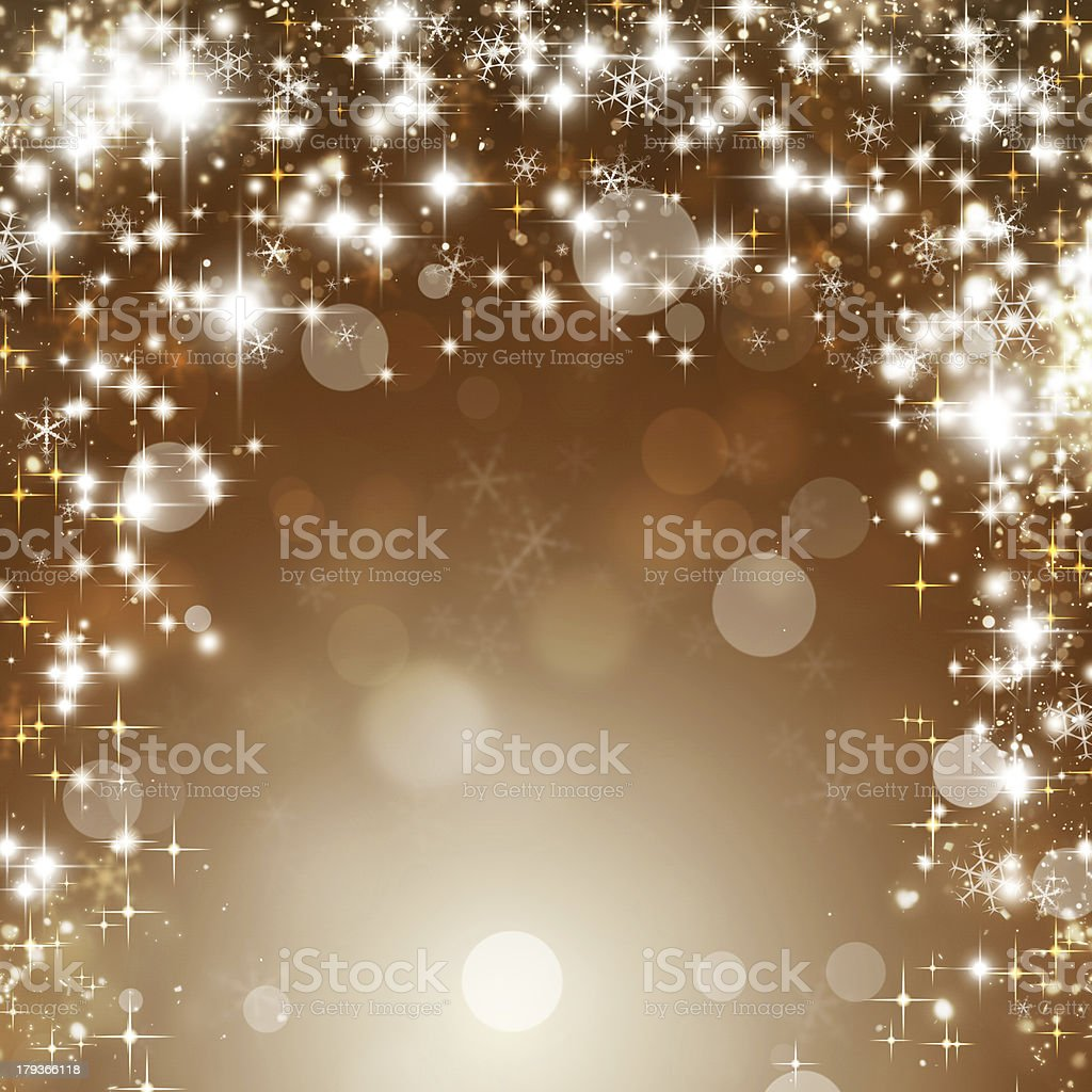 Shining Glitter Stars royalty-free stock vector art