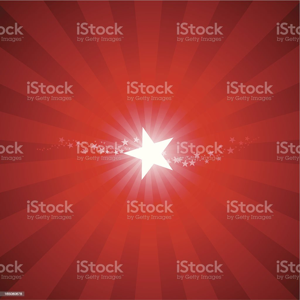 Shining starburst royalty-free stock vector art