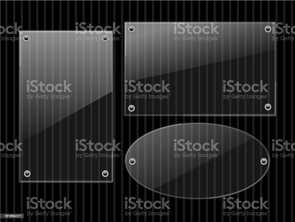 Shiny Glass Message Boards royalty-free shiny glass message boards stock vector art & more images of abstract