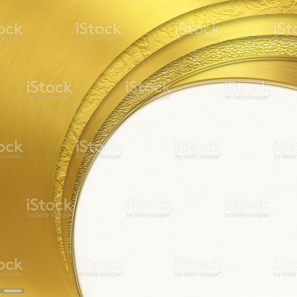 Shiny golden background with  place for text vector art illustration