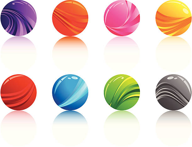 Marbles Clip Art : Royalty free glass marbles clip art vector images
