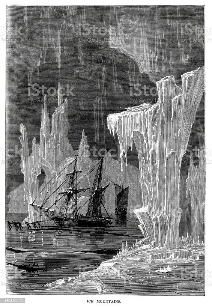 Ship trapped in the ice royalty-free ship trapped in the ice stock vector art & more images of 19th century