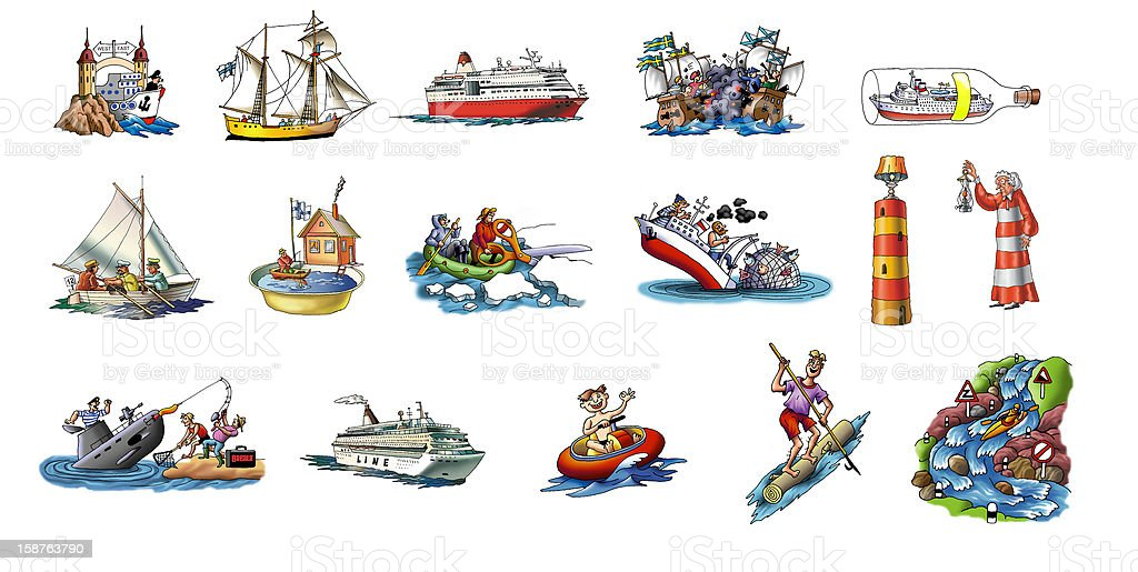 ships royalty-free ships stock vector art & more images of canal
