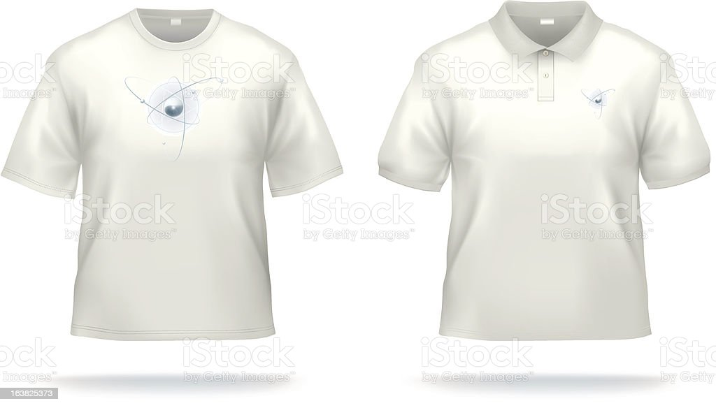 Shirt for scientific souls vector art illustration