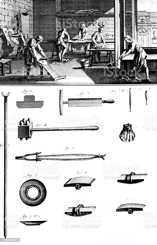Shoemaker vector art illustration