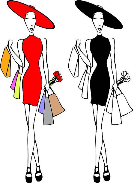 shopper – Vektorgrafik