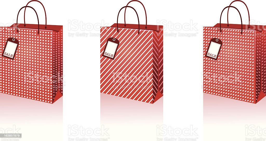 shopping bags royalty-free shopping bags stock vector art & more images of bag