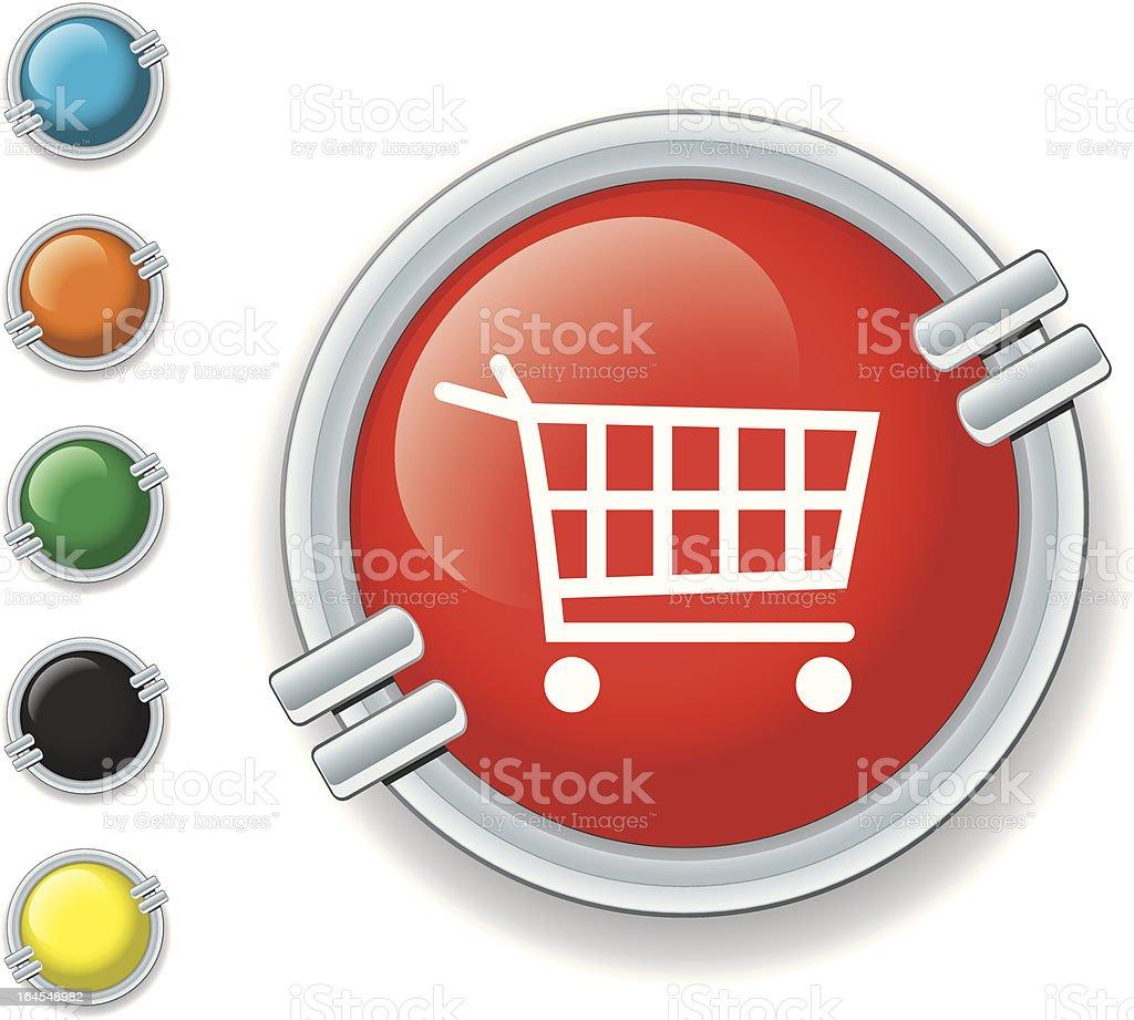 Shopping Cart Icon vector art illustration