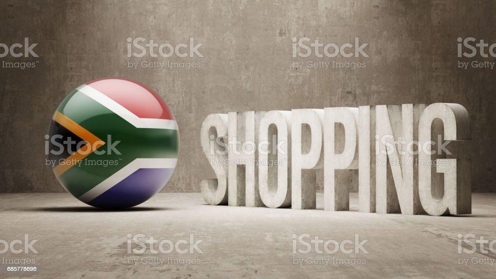 Shopping-Konzept Lizenzfreies shoppingkonzept stock vektor art und mehr bilder von afrika