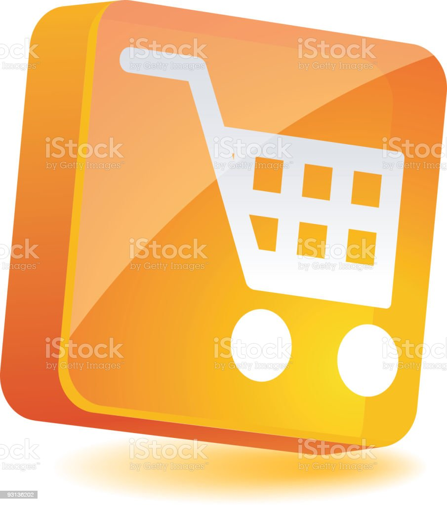 Shopping Icon. royalty-free stock vector art