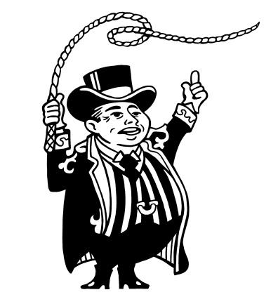 Short Ringmaster With Whip