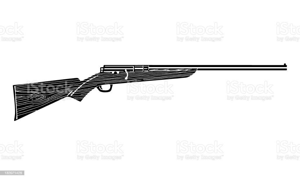 Shotgun/Rifle royalty-free stock vector art