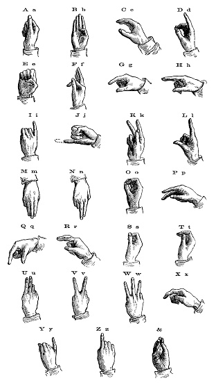 Sign Language From 1873