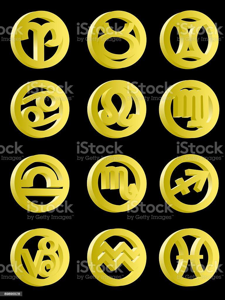 Signs on the zodiac royalty-free signs on the zodiac stok vektör sanatı & akrep burcu'nin daha fazla görseli