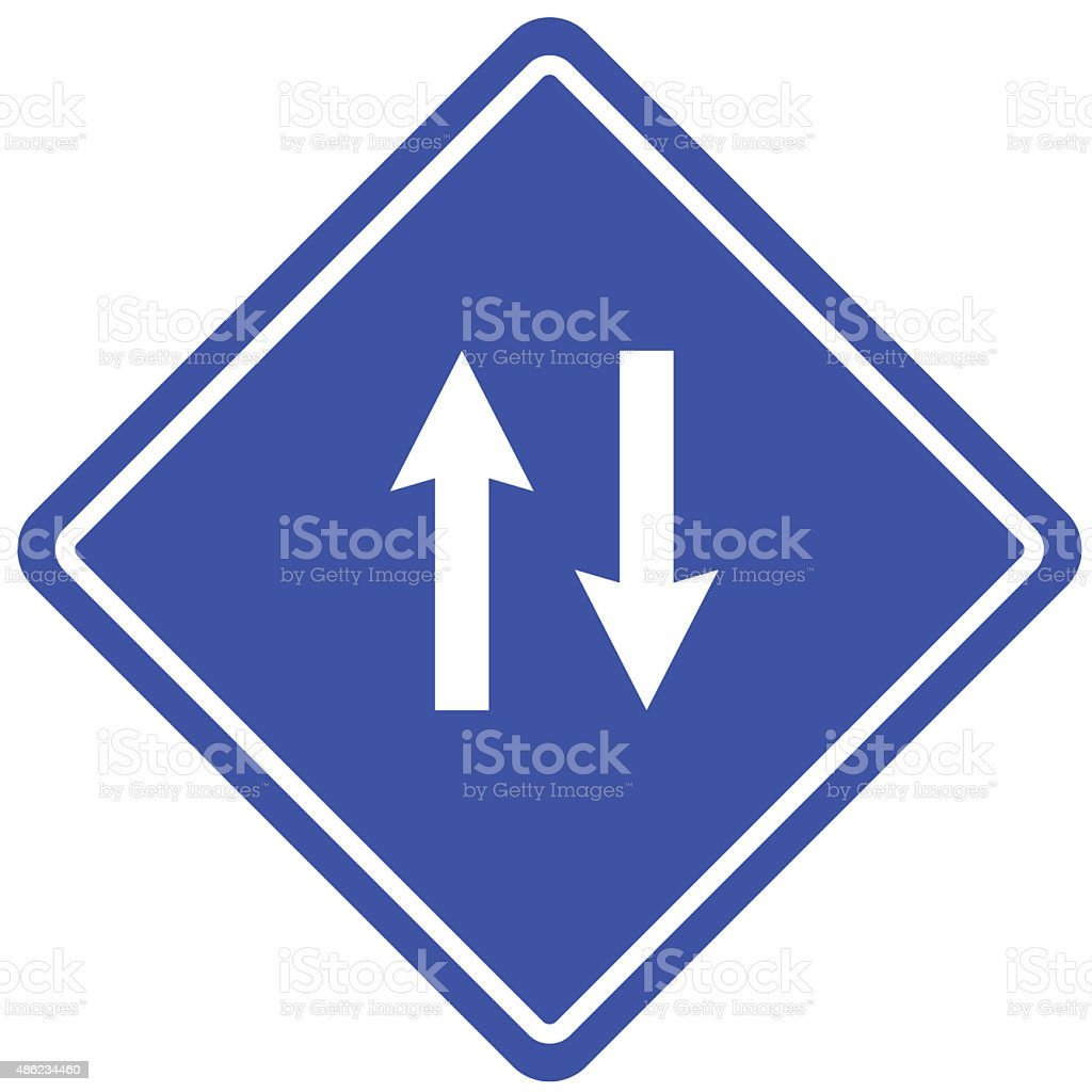 Signs Up And Down Arrows Icon Stock Illustration - Download