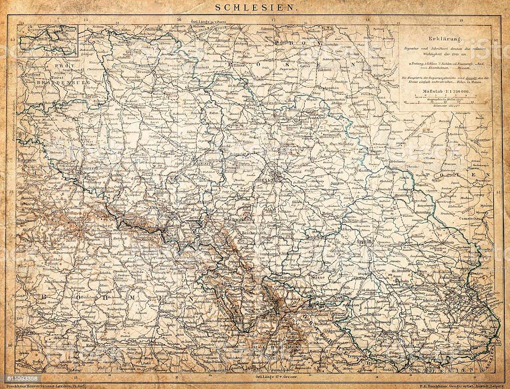 Silesia. Poland vector art illustration
