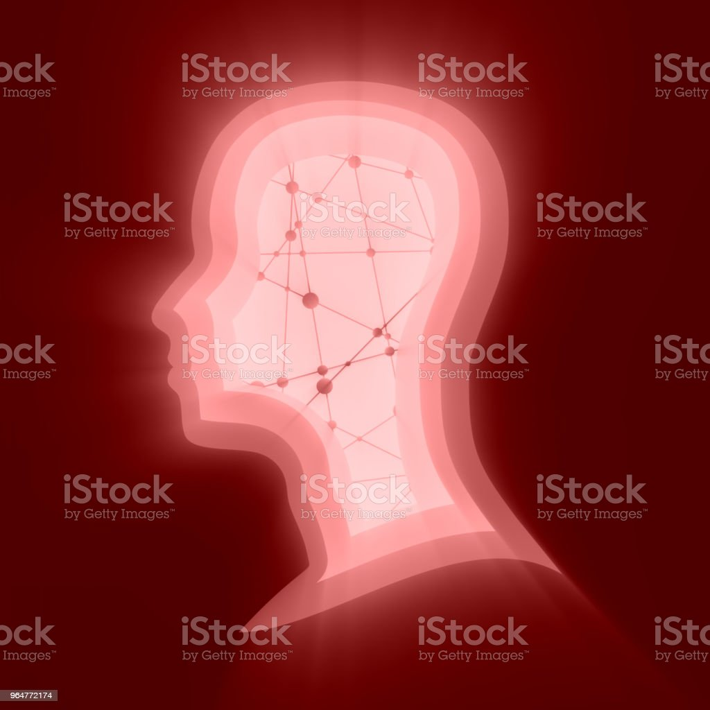 silhouette of a man's head royalty-free silhouette of a mans head stock vector art & more images of biology