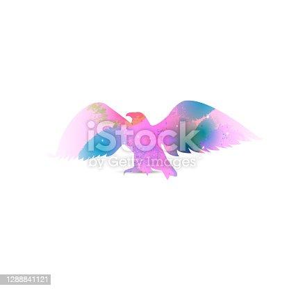 istock Silhouette of eagle 1288841121