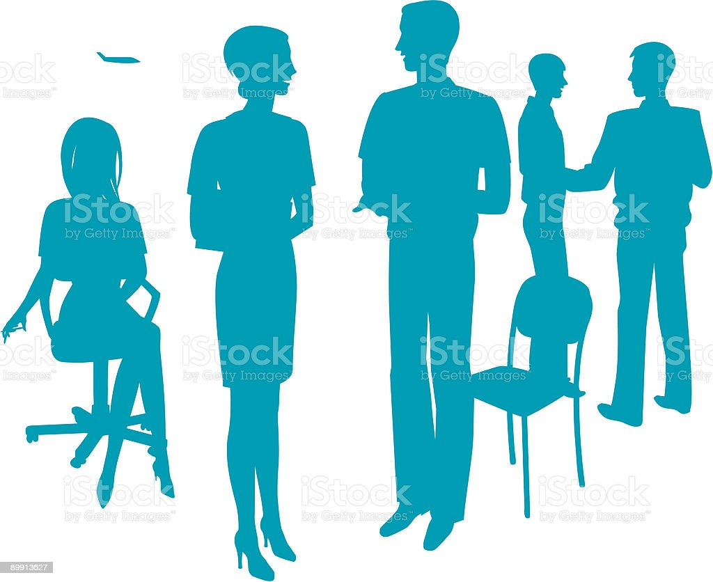 Silhouette of people royalty-free silhouette of people stock vector art & more images of adult