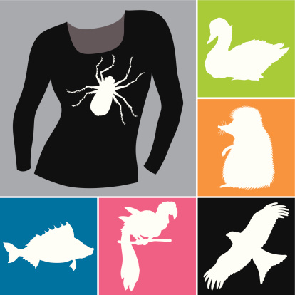 Silhouettes (vector)