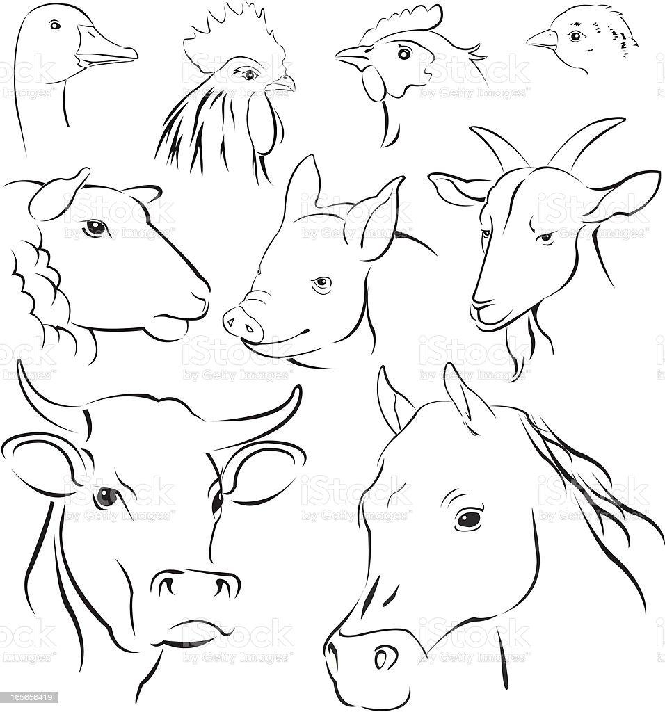 シンプルな動物 のイラスト素材 165656419 | istock