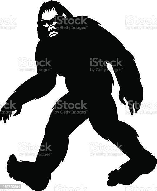 Simple bigfoot illustration id165750854?b=1&k=6&m=165750854&s=612x612&h=o1luwbxjwaezriuqokmrx1hjp3w5swvcu8rwidepjok=