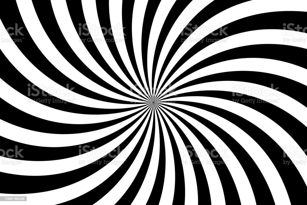 simple-black-and-white-background-spiral-stripes-in-retro-pop-art-illustration-id1088198336 Get Inspired For Pop Art Background Black And White @koolgadgetz.com.info