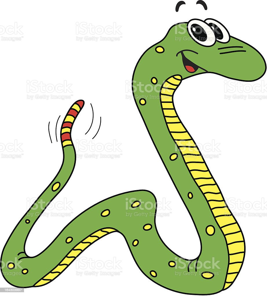 Simple Dessin Animé De Serpent Cliparts Vectoriels Et Plus D