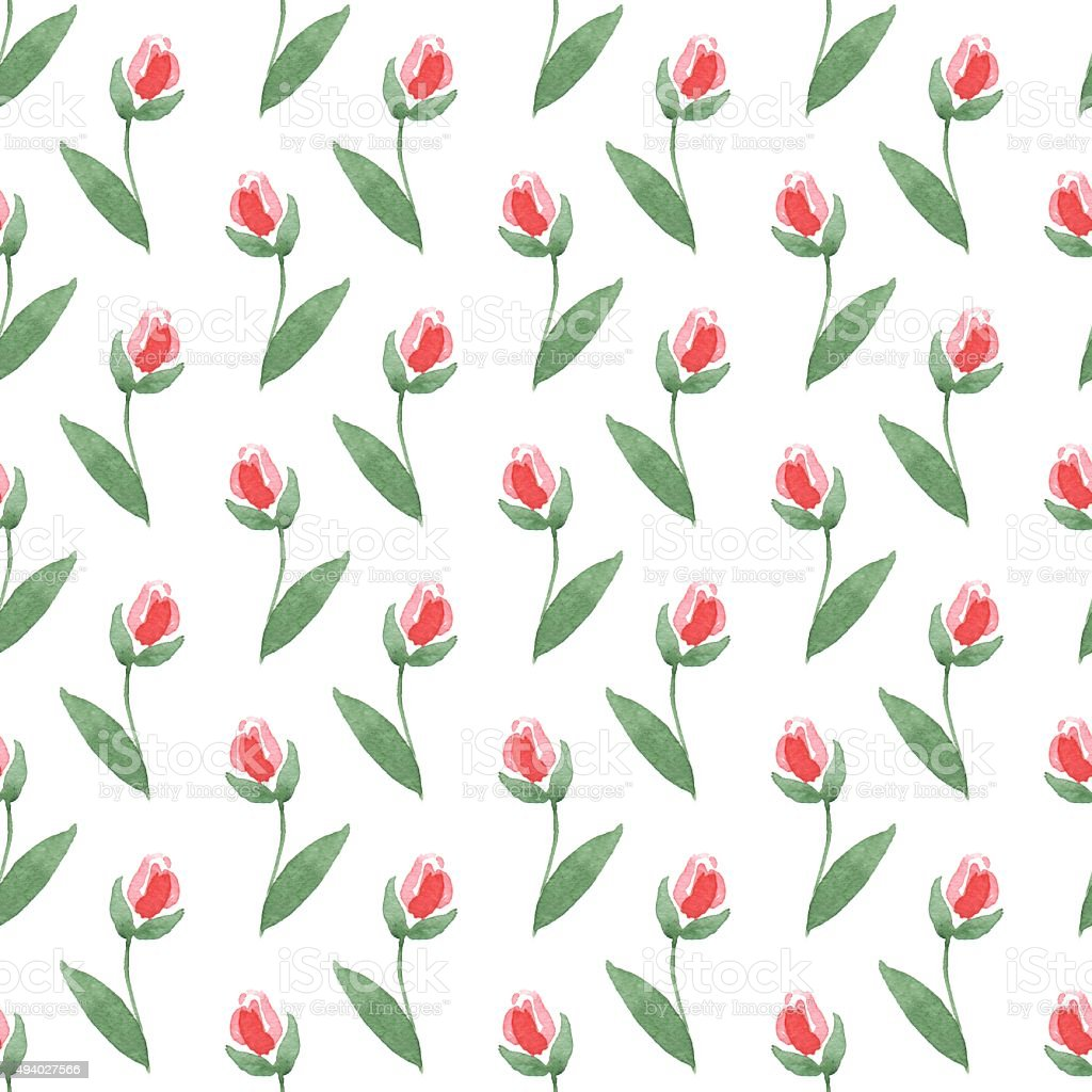 Simple Floral Background 1 Stock Illustration Download Image Now
