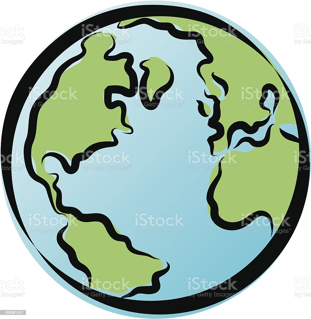 simple globe icon stock vector art more images of africa 165081457 rh istockphoto com globe vector images globe vector images