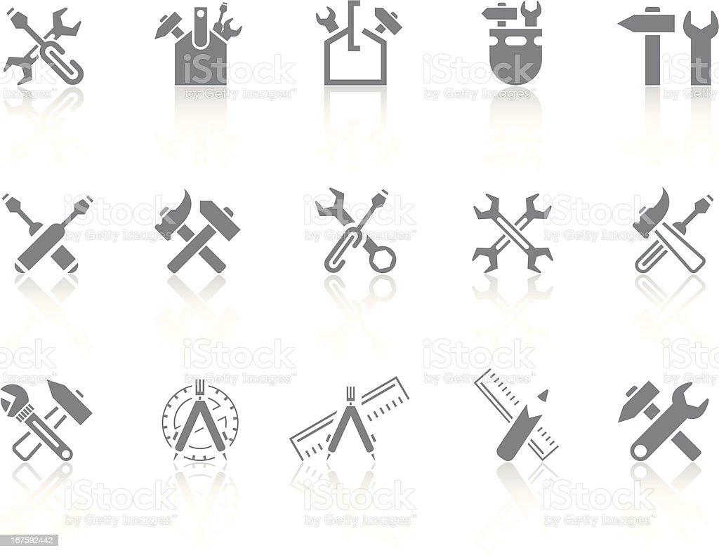 Simplicity > Tools vector art illustration