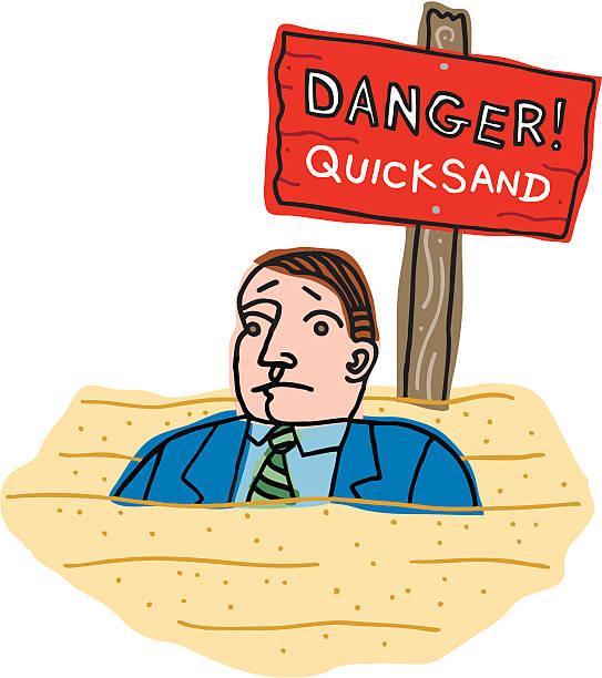 Best Quicksand Illustrations, Royalty-Free Vector Graphics & Clip Art - iStock