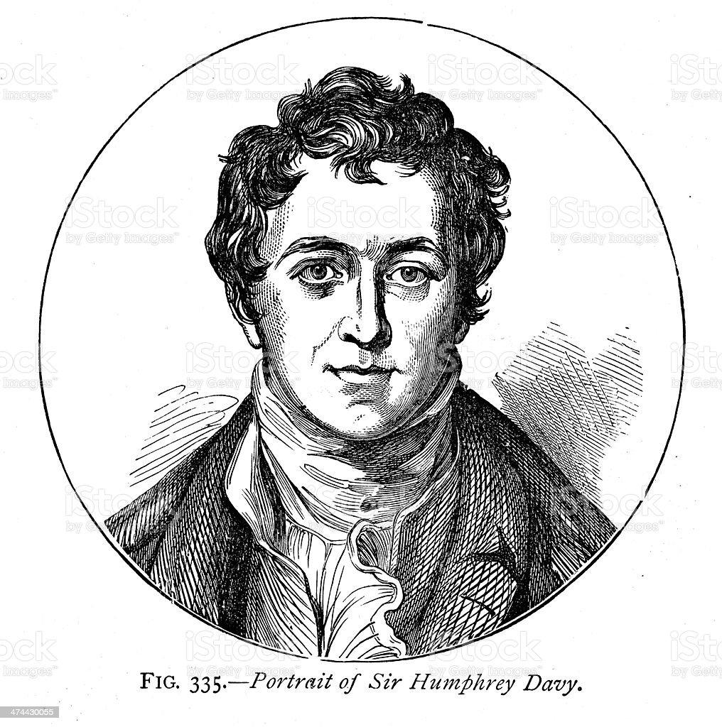 Sir Humphrey Davy royalty-free sir humphrey davy stock vector art & more images of 19th century