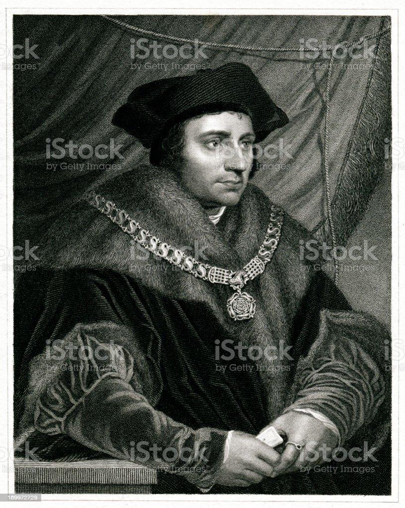 Sir Thomas More royalty-free sir thomas more stock vector art & more images of 1833