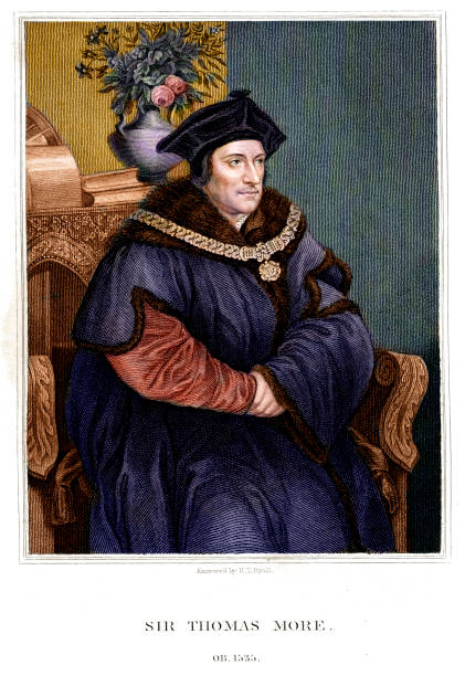 sir thomas more - renaissance style stock illustrations, clip art, cartoons, & icons