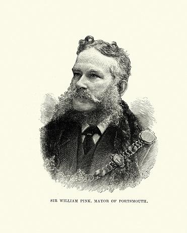 Sir William Pink, Mayor of Portsmouth, 19th Century