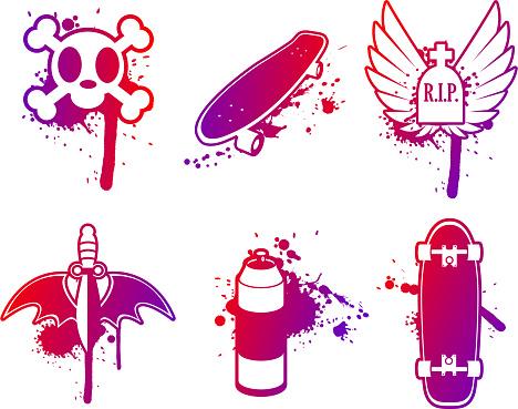 Skateboard elements