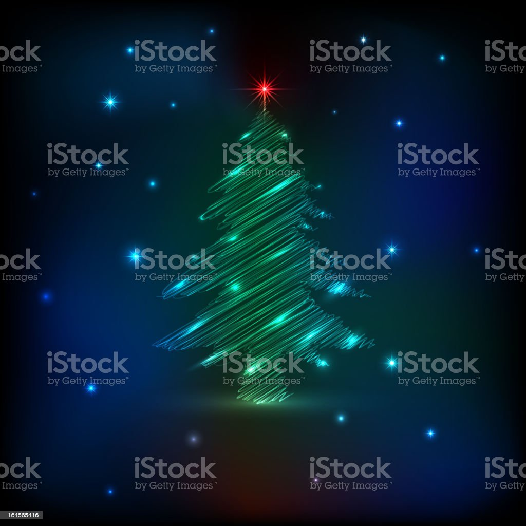 Sketch Christmas tree royalty-free sketch christmas tree stock vector art & more images of abstract