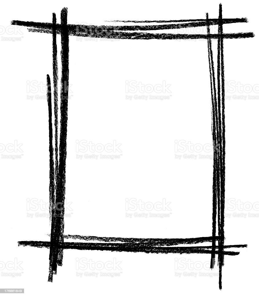 sketch frame royalty-free stock vector art