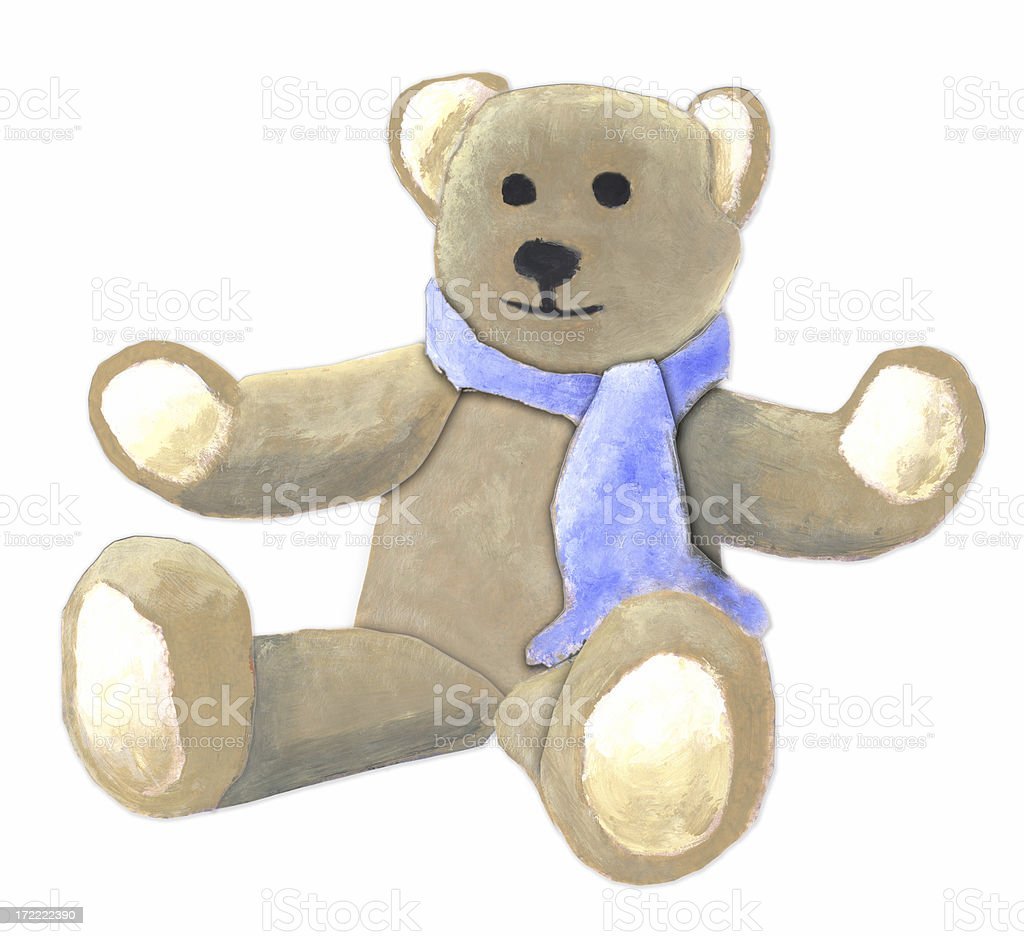 sketch: Teddy Bear royalty-free sketch teddy bear stock vector art & more images of acrylic painting
