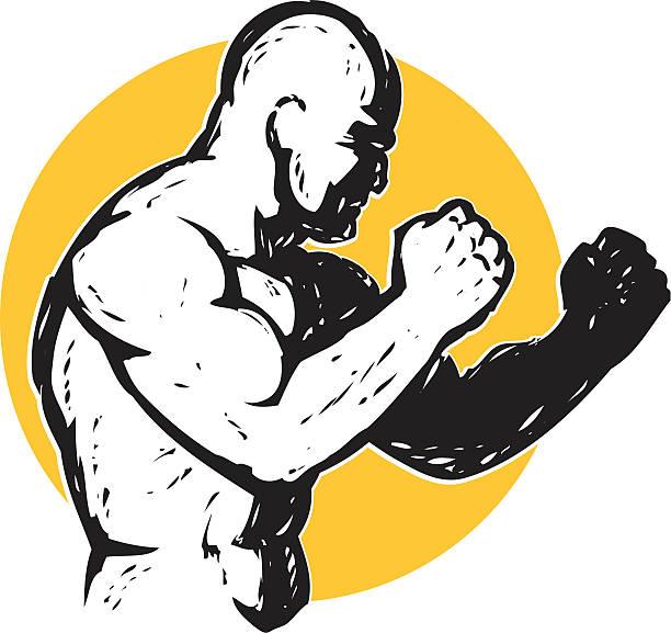 Royalty Free Mixed Martial Arts Clip Art, Vector Images ...