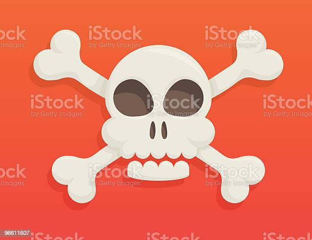 Skull And Bones Stockvectorkunst en meer beelden van Close-up
