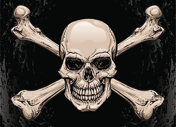totenkopf - totenkopf tattoos stock-grafiken, -clipart, -cartoons und -symbole